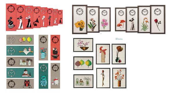 Decorative-Interior-Wall-Clock