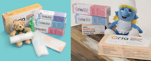Anti-bacterial-zipper-bag-for-baby-(Vacuumizing-zipper-bag)