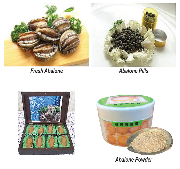 Korean-Abalone-Products