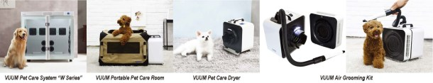 Pet Care Drying Room System & Air Grooming Kit