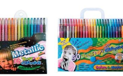 Twist-Up Type Crayon