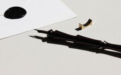 Wooden Dip Pen