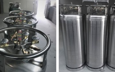 Cryogenic Liquid Gas Cylinder LNG Vehicle Fuel Cylinder