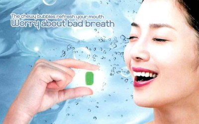 Tooth-Cleaning Tablet