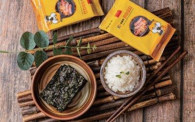 Seaweed Snacks with Various Flavors