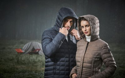 Eco-Friendly Winter Down Jacket