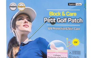 UV Protection Golf Patch
