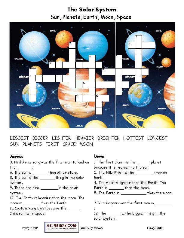 spacecraft crossword - photo #41