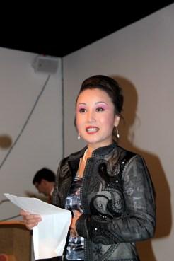 KAA Chairman Park Sunnee introduces the evening