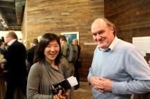 Kim Young-shin with Peter Corbishley
