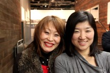 Kitty Jun-im McLaughlin with Kim Young-shin