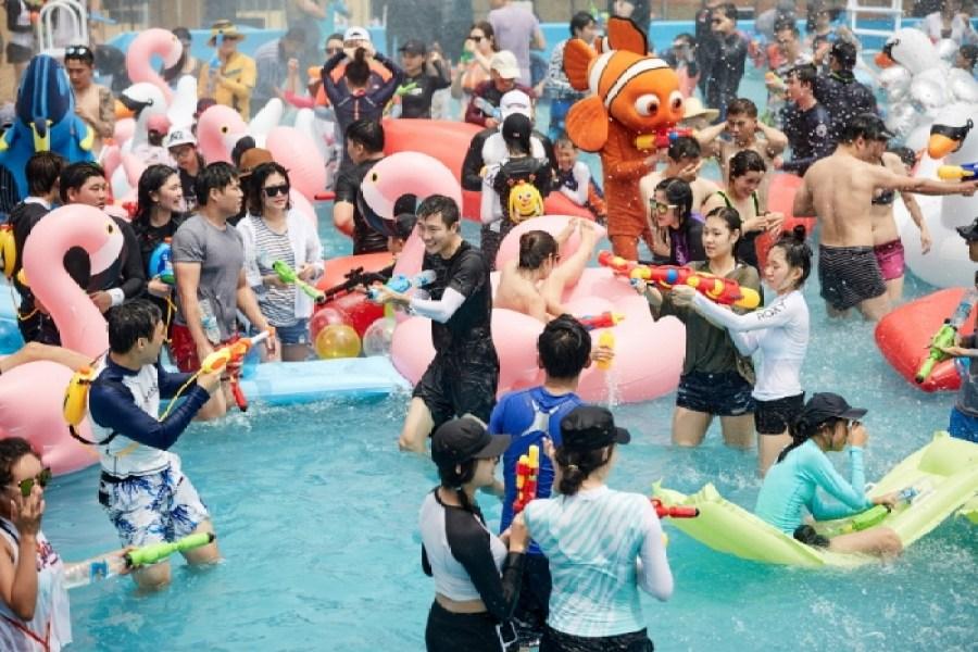 Festival de la mer à Busan (부산 바다축제)