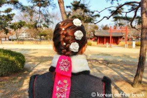 Accessoires à cheveux - Hanbok