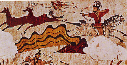 Mural from Goguryeo Dynasty in 300 BCE