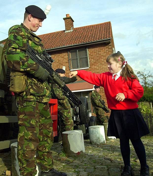 Englisches Militär in Nordirland