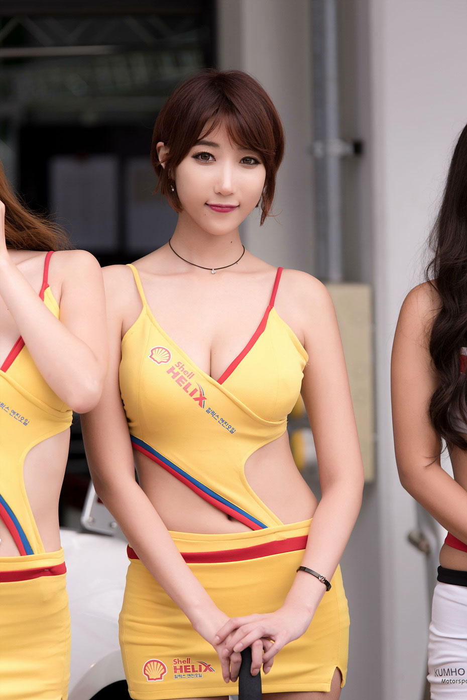 Yoo Ji Ah CJ Super Race 2015 Shell Helix