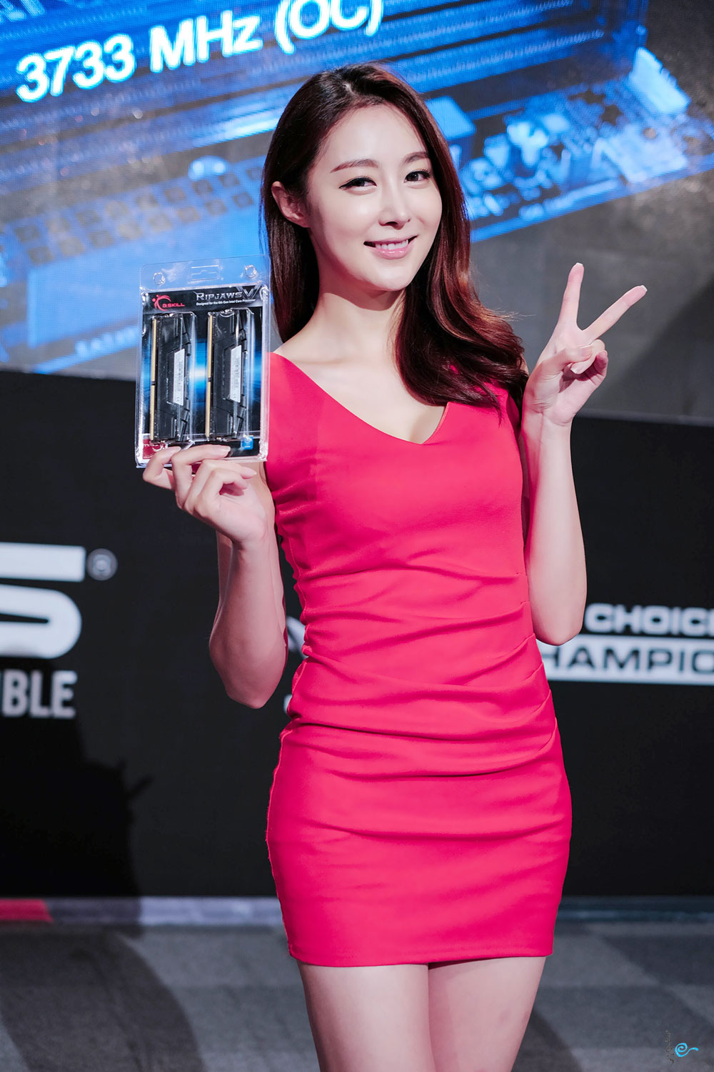 Eun Bin Korean ASUS promotion event
