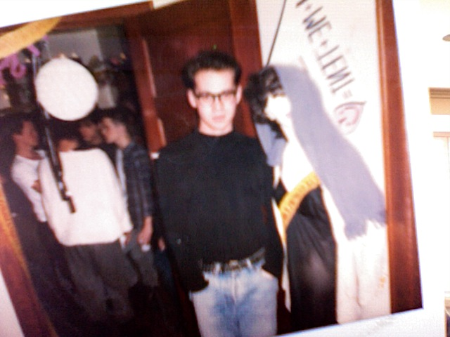 Me in 1989, trying to look like Morrissey