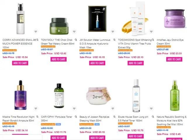 Where to buy Korean Skincare online Jolse
