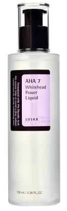 best korean aha skincare products cosrx aha 7 whitehead power liquid