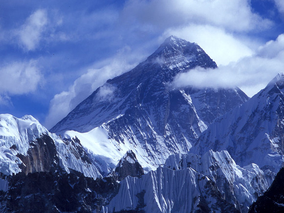Western face of Mount Everest 8848m, Nepal