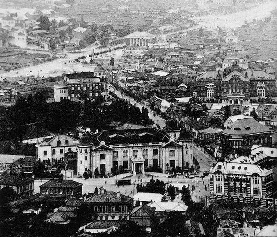 Seoul, Korea under Japan c1936