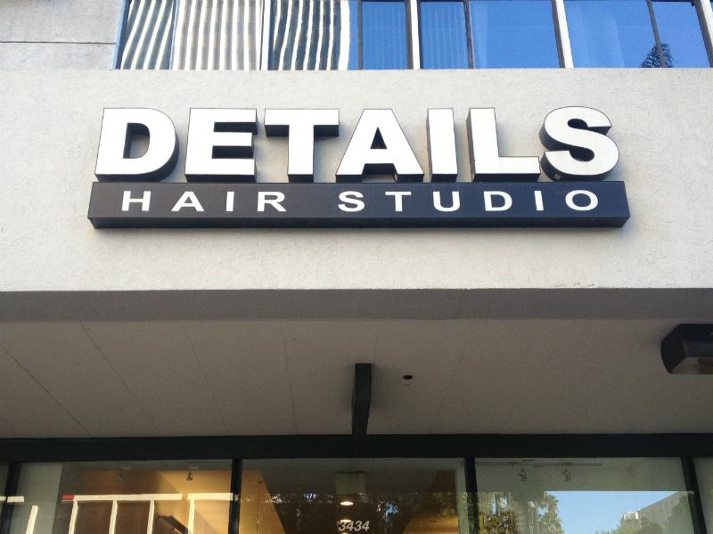 Details Hair Studio on Wilshire