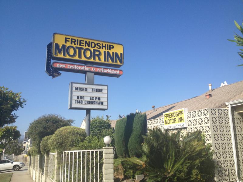 Friendship Motor Inn: Free Internet: Central LA Motel