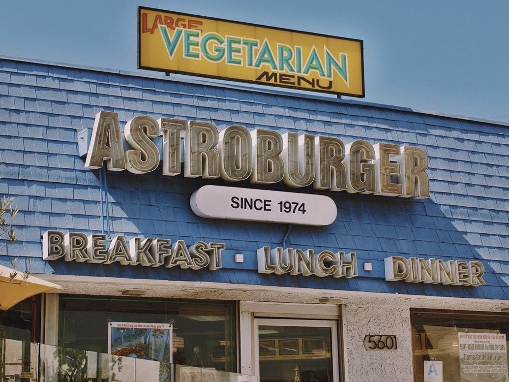 Astroburger near Koreatown