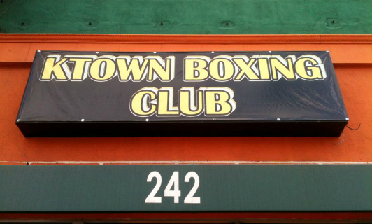 Ktown Boxing Club on Western Avenue
