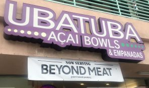 Ubatuba Acai Beyond Meat in LA
