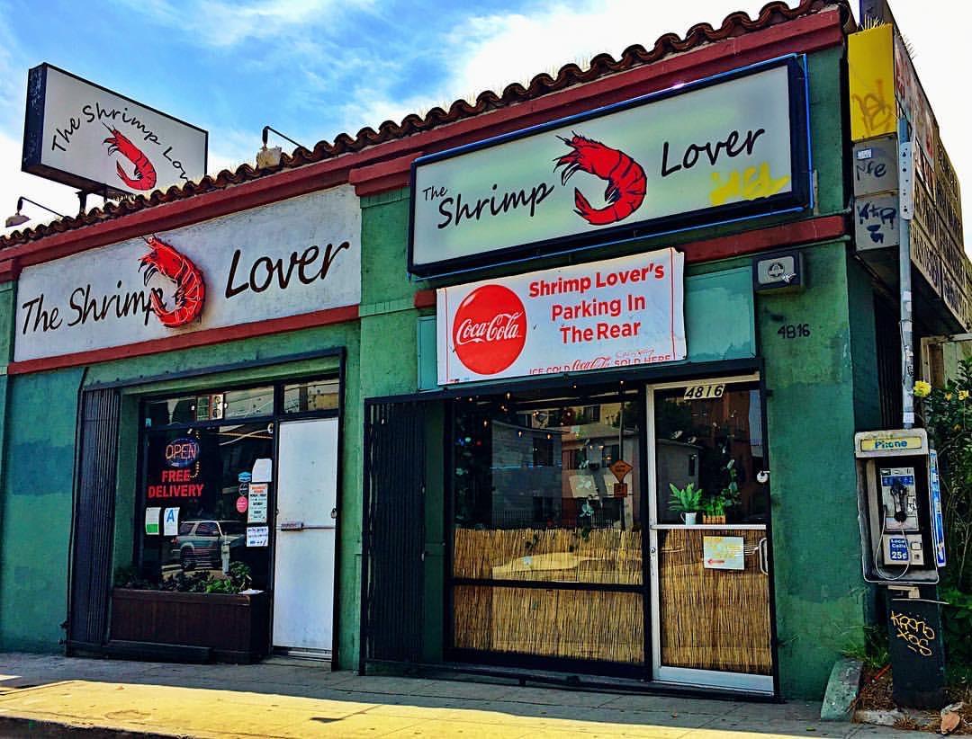 Shrimp Lover on Melrose in LA
