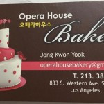 Opera House Bakery in Koreatown LA