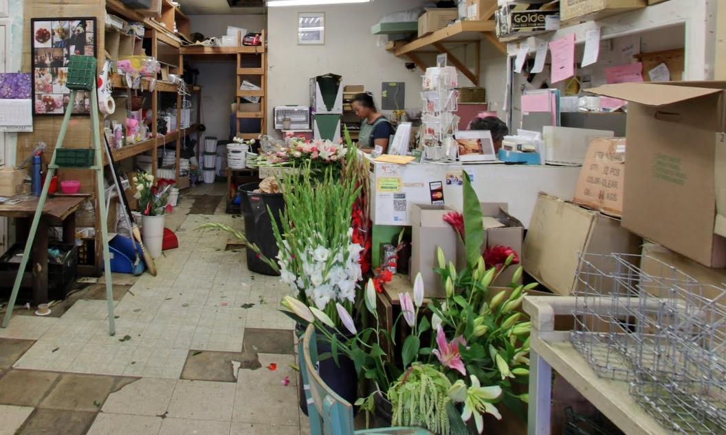 Florist in Koreatown, Olympic