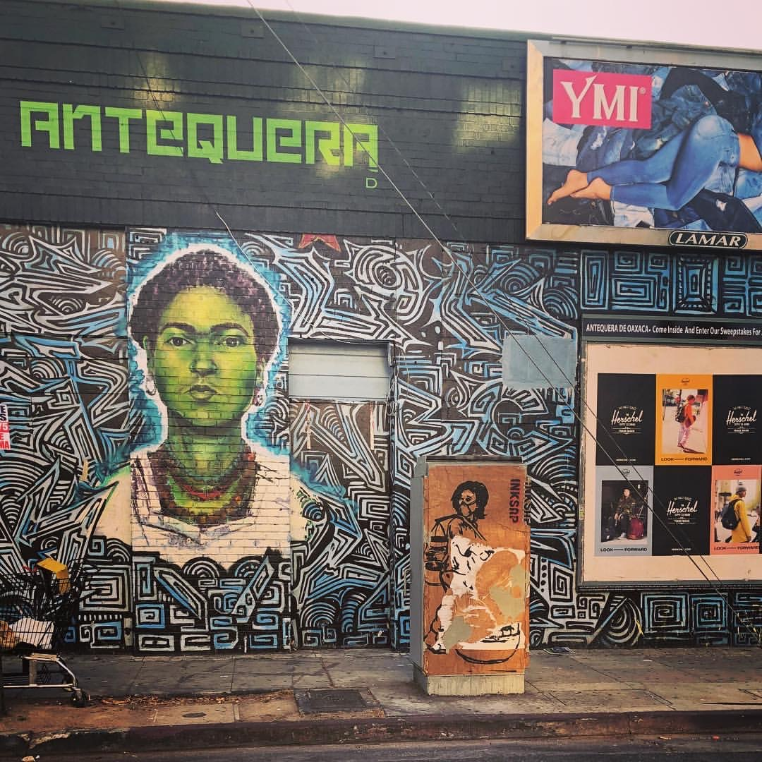 Antequera on Melrose Avenue
