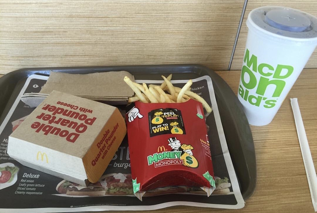 Double Quarter Pounder with Cheese box