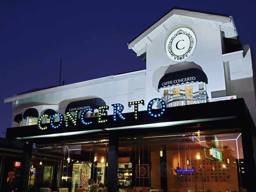 Caffe Concerto in Los Angeles