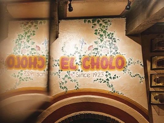 El Cholo restaurant's history