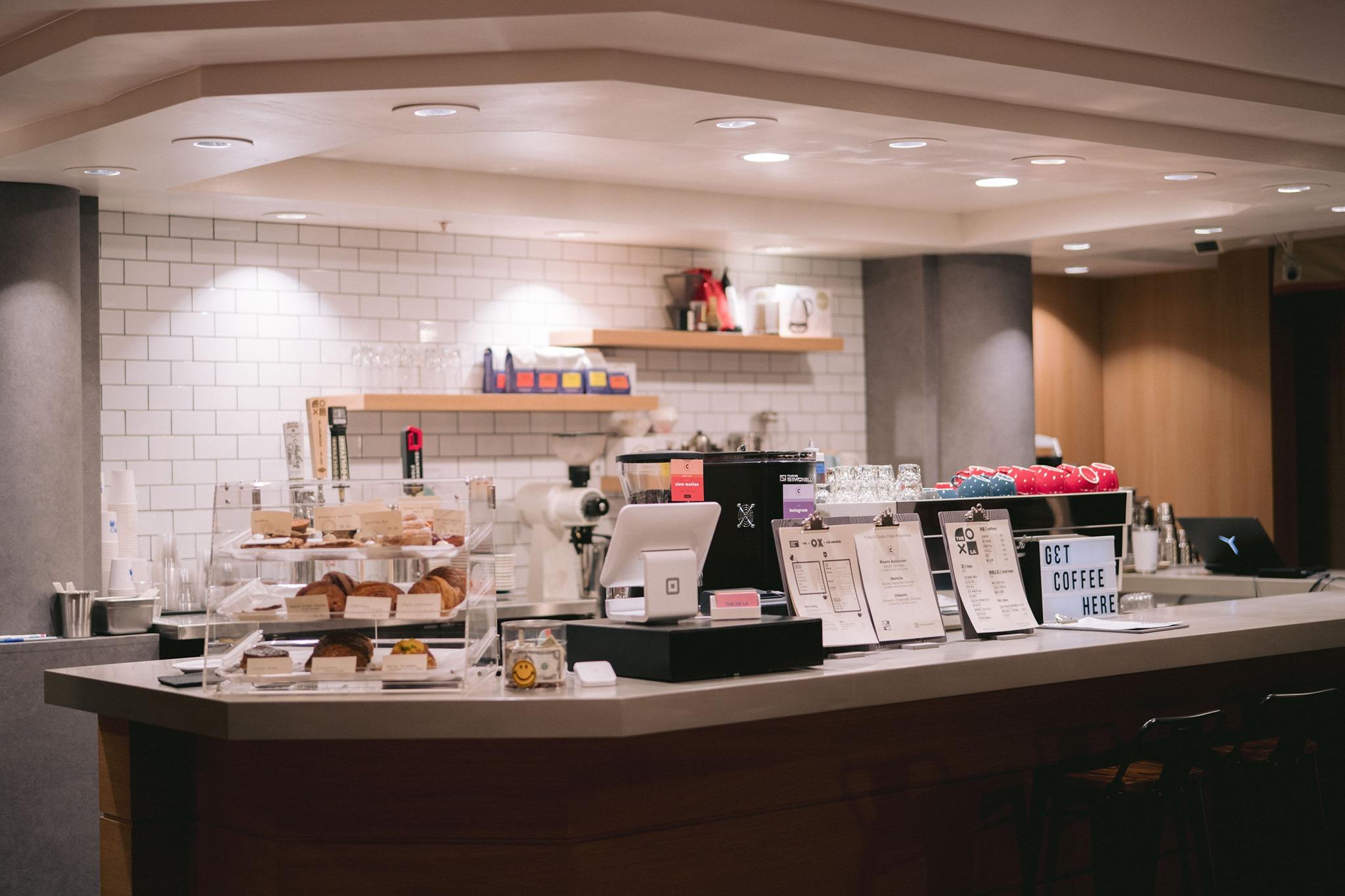 The Ox LA Hotel Coffee Bar