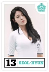#13, Seolhyun, the vocalist.