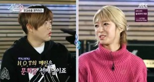 Choa عضوة AOA تستذكر إنطباعها الأول عن Moon Hee Jun عضو H.O.T