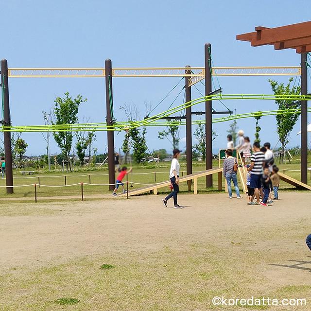 きらら西公園の口コミ!遊具や駐車場について。子供と一緒に行ってきた感想!