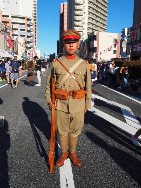 大正時代まつり軍人