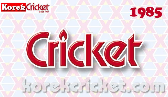 Sejarah korek api gas merek Cricket 1985