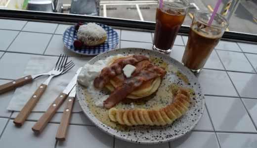 【釜山】パンケーキもドリンクもステッカーも!全部かわいい『Origiwon』