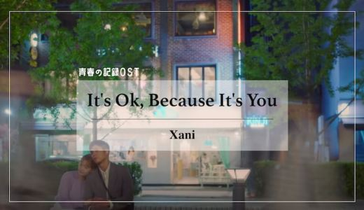 【日本語訳/歌詞/カナルビ】ドラマ青春の記録OST『It's Ok, Because It's You (넌 그래도 돼)/Xani』