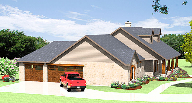 Texas Hill Country Ranch S2786L Texas House Plans Over 700 Proven Home Designs Online By