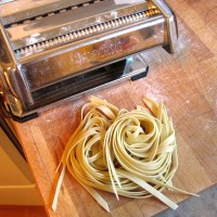 Sourdough Pasta (with a Pasta Machine)