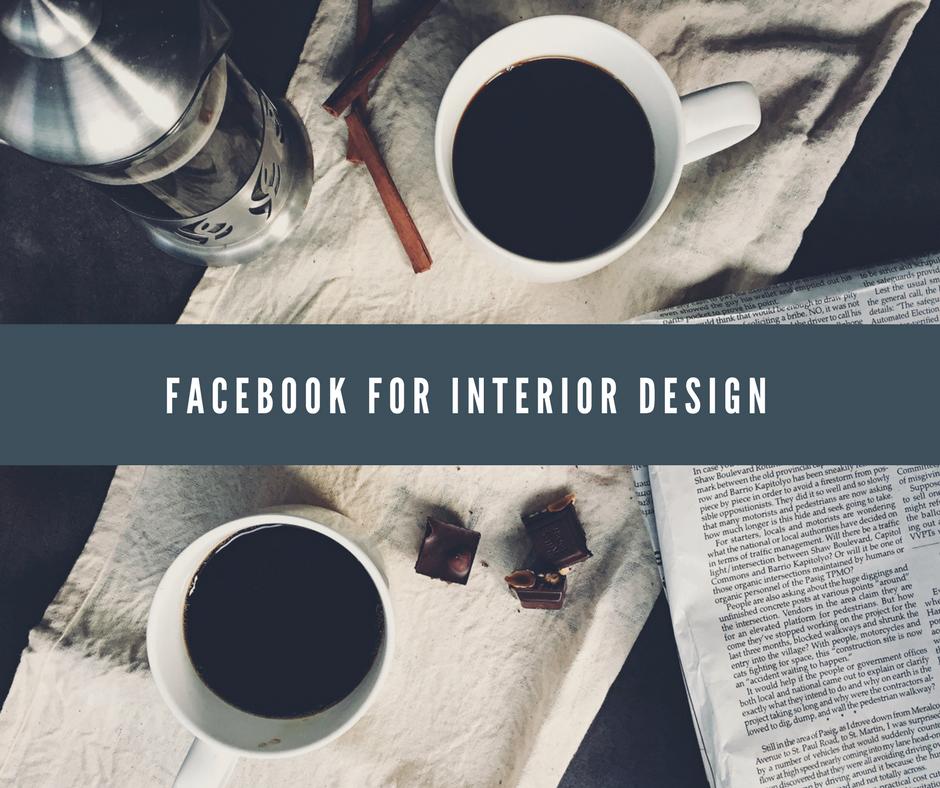 שיווק בפייסבוק למעצבי פנים