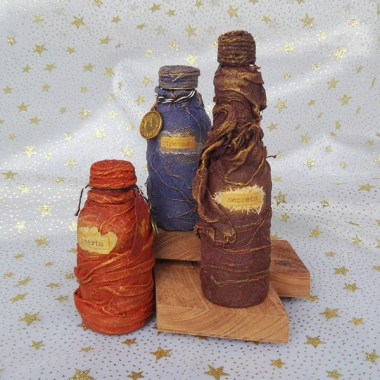 Powertex potion bottles
